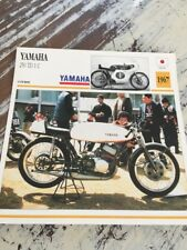 Yamaha 250 TD1C 1967 TD1 C 250TD1C Carte moto Collection Atlas Japon