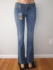 Paige Premium Denim Jeans Hollywood Hills Boot Cut Gems Medium Wash Low 28 NWT