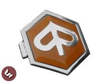 Vespa horncast Hex badge-chrome Piaggio px/lml/t5 Naranja