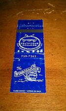 Vintage THE WINDJAMMER Seafood Specialties Cocktails Wareham MA MATCHBOOK COVER