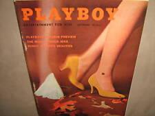 PLAYBOY Magazine September 1959 Intact Centerfold EXC++