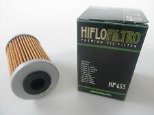 Hiflo Filtro Olio Hf655 per KTM 450 Xc-w (2012)