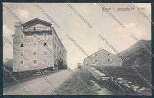 Aosta Piccolo San Bernardo cartolina C2300 SZD