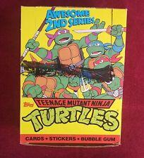 1990 TOPPS TEENAGE MUTANT NINJA TURTLE Cards 2nd Series 47 UNOPENED Wax Packs