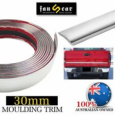 Chrome Molding Trim Cover Cars Door Trunk Roof Moulding Decorate&Protect 5Mx30mm