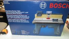 Bosch RA1181 27 x 18-Inch Aluminum Fence MDF Face Plates Benchtop Router Table