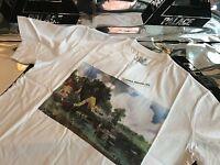 PALACE SKATEBOARDS FW16 MEDIUM WHITE STUBBLE PICTURE TRI FERG TEE T-SHIRT M LAKE