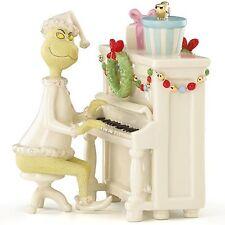 Lenox Grinch's Christmas Melody Figurine Piano Dr Seuss Who Stole Rare New
