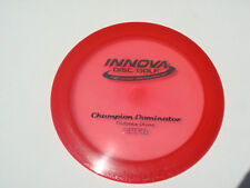 Disc Golf Innova Champion Dominator Overstable Distance Driver 166g Red