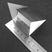 2PCS 50x50x50mm K9 Optical Glass Right Angle Prism For Optical Experiment