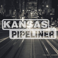 Kansas Pipeliner Pipe Liner Decal Vinyl Oil Gas Pipeline Sticker City