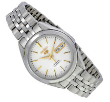 Seiko Automatic SNKL17 SNKL17K1 Men Day Date Stainless Steel Watch