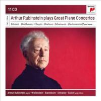 ARTHUR RUBINSTEIN PLAYS GREAT PIANO CONCERTOS: MOZART, BEETHOVEN, CHOPIN, BRAHMS