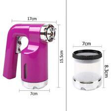 New Spare Spray HVLP Tan /Hose/Gun Teflon Pink/Black/Cup