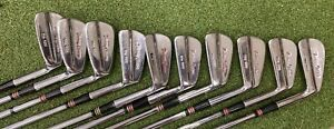 "MacGregor Tourney Custom ""the 985"" Iron Set 1-10,  Stiff Steel - Excellent"