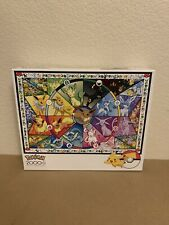 Pokemon 2000 Piece Puzzle Brand Eevee's Stained glass New Never Used Buffalo