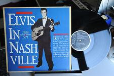 "ELVIS PRESLEY - ELVIS IN NASHVILLE - VINILE LP 33 GIRI - 12"" EX"