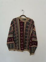 Vintage Tundra Size L Multicolor Coogi Inspired Sweater