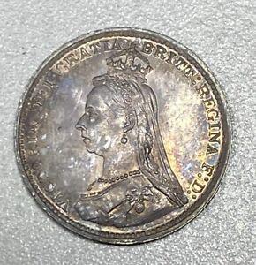 1887 Great Britain Jubilee Head 3p Three Pence