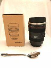 New Camera Lens Mug Canon 24-105mm Zoom Lens Travel Coffee Tea Cup - Mango Spot