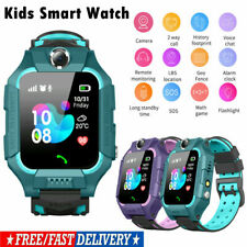 Child Kids Smart Phone Watch LBS Tracker Camera SOS Alarm Voice Call Anti-lost