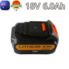 18V 6Ah Battery For Dewalt Li-ion DCD740B DCB180 DCB181 DCB182 DCB201 DCD740 OZ