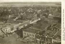 c1907 Postcard Birdseye View Northeast from Court House Marshalltown IA