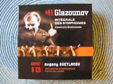GLAZUNOV / SVETLANOV - INTEGRALE DES SYMPHONIES - 6CD WARNER