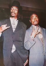 """Tupac & Snoop Dog - Suits - Rappers - Poster """"24 x 36"""" - NEW"""