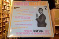 Studio One Rocksteady Volume 2 Soul of Young Jamaica 2xLP sealed vinyl Soul Jazz