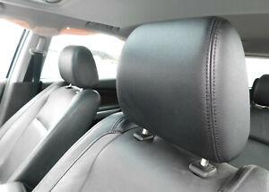 2007-2015 Mazda CX-9 Front Row Seat Head Rest Pair Black Leather Genuine OEM