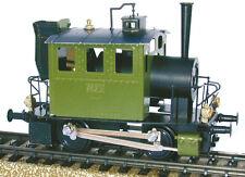 """Mini Dampfmaschine Echtdamf Dampflokomotive """"Glaskasten"""" H0 (1:87) Fertigmodell!"""