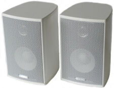 CANTON CD Series 100 W Compact Speakers+Mounts CD120  WHITE-FREE SHIPPING- NEW