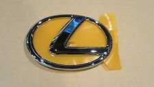 2008 2009 OEM New Lexus IS250 Chrome Front Grille Emblem w Adhesive Backing