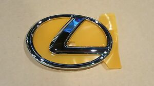 2006 2007 2008 2009 New Lexus IS250 Chrome Front Grille Emblem W/O PRE CRASH