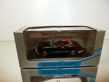 MINICHAMPS 5062 VW VOLKSWAGEN KARMANN GHIA CABRIO- BLACK 1:43 - EXCELLENT IN BOX