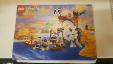 Vintage Lego Pirates Skull Island 6279 Complete With Instructions.