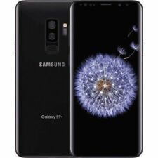 Samsung GALAXY S9 Plus + SM-G965F/DS 64GB Midnight Schwarz Ohne Simlock Dual SIM
