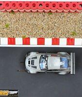 RAS FlexCurbs ROT-WEISS - 60 cm Randstreifen für Autorennbahnen 1:32-1:24 - NEU