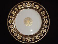 Assiette plate à dessert porcelaine BERNARDAUD Limoges Jardin Imperial Or NEUVE