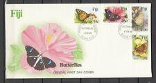 FIDSCHI, 1985 FDC Schmetterlinge 517-20, (27411)