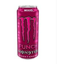 MONSTER  PUNCH MIXXD ENERGY DRINK