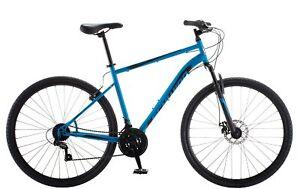 Schwinn 700c Copeland Men's Hybrid Bike, Blue