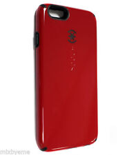 NEW OEM Speck CandyShell Case iPhone 6/6S Red/black Protecive hard Cover Skin