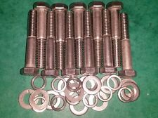 Ford V4 V6 Essex Engine STAINLESS Front Timing Cover Bolts Capri Reliant Volvo
