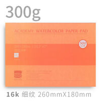 "10.2x 7"" Watercolor Paper Watercolor Pad Fine Grain Press 140lb/300gsm New"