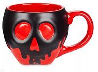NEW Disney Store Poison Apple Heat Changing Mug Snow White Evil Queen