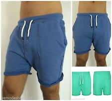 Kurze bequem sitzende unifarbene Herren-Shorts & -Bermudas aus Baumwolle
