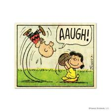 "Peanuts ""Aaugh!"" Numbered Limited Edition Animation Art"