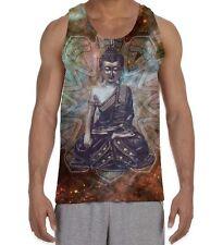 Buda Tibetano Mandala patrón para hombre todo chaleco sin mangas-yoga budista